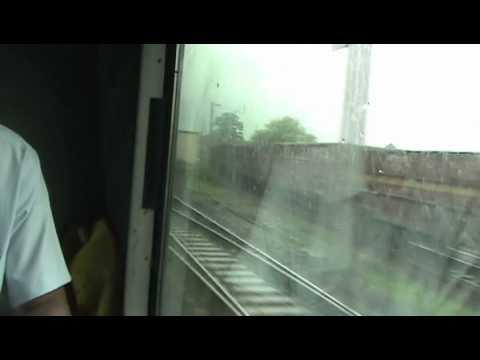 Ripping through Rajkharsawan - Howrah-Mumbai Duronto (Aug. 10, 2011)