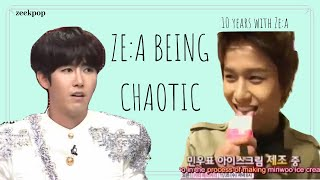 ZE:A being Chaotic — #10thAnniversary