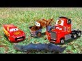 Disney Pixar Cars Lightning Mcqueen And Mater Guessing Game Impressions Cars Emergency W Mack  Mp3 - Mp4 Download