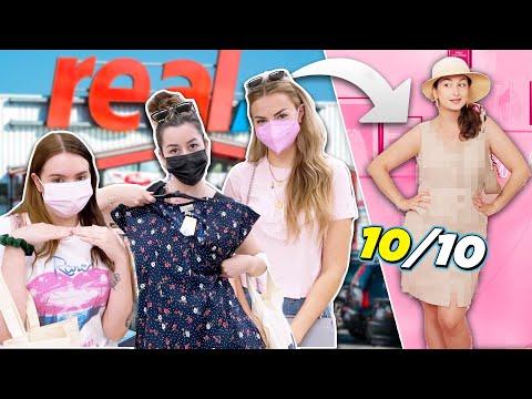 Wer shoppt das BESTE OUTFIT aus dem SUPERMARKT?! Outfit Challenge mit xLaeta!
