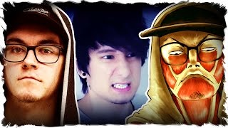 JULIEN BAM Team in ATTACK ON TITAN mit CrispyRob | Falco