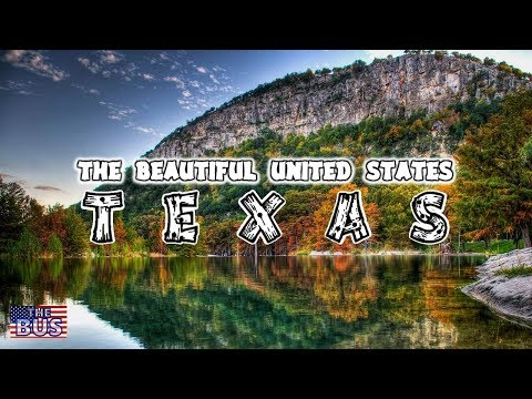 USA Texas State Symbols/Beautiful Places/Song TEXAS, OUR TEXAS w/lyrics