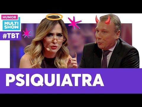 Tatá Werneck Entrevista Psiquiatra  TBT Lady Night  Humor Multishow