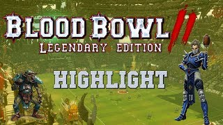 Most amazing goblin play ever! (Blood Bowl 2 Legendary Edition highlight - the Sage)