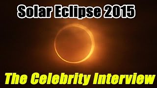 Solar Eclipse 2015 - The Celebrity Interview || CopyCatChannel