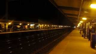 Acela Express 2258 at Night