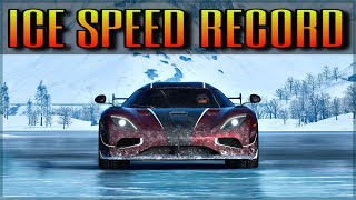 Forza Horizon 4 | NEW Topspeed Record on Ice | Can you beat it?