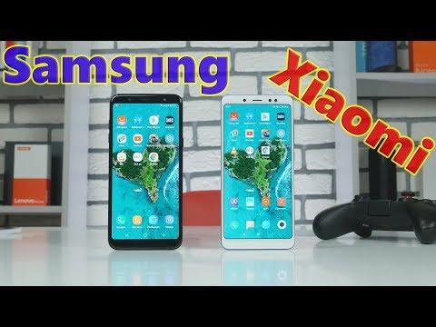 Кто круче Xiaomi или Samsung? Сравнение Xiaomi Redmi Note 5 и Samsung Galaxy A6+