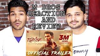 Ayogya Official Trailer Reaction and Review Vishal Raashi Khanna M Bros India