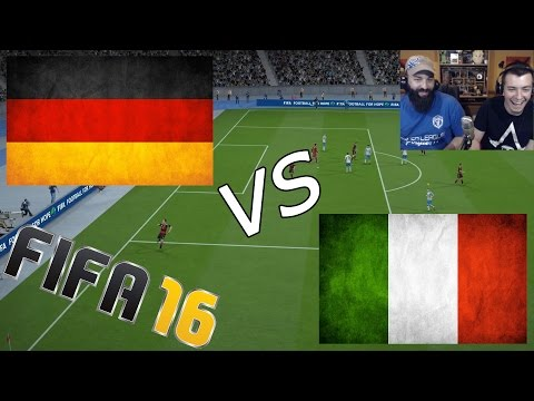 Germany vs Italy | EURO 2016 | 2/7/16 - FIFA 16