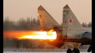 WORLDS FASTEST Military Aircraft in service Russian Military Mig 31