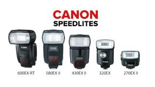 Canon Speedlite 600EX-RT Overview
