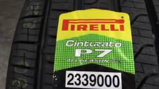 видео Купить шины Pirelli Cinturato P7 Blue 245/40 R18 97 Y в Калининграде