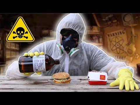 Coloquei Ácido no Big Mac e o resultado foi NOJENTO!