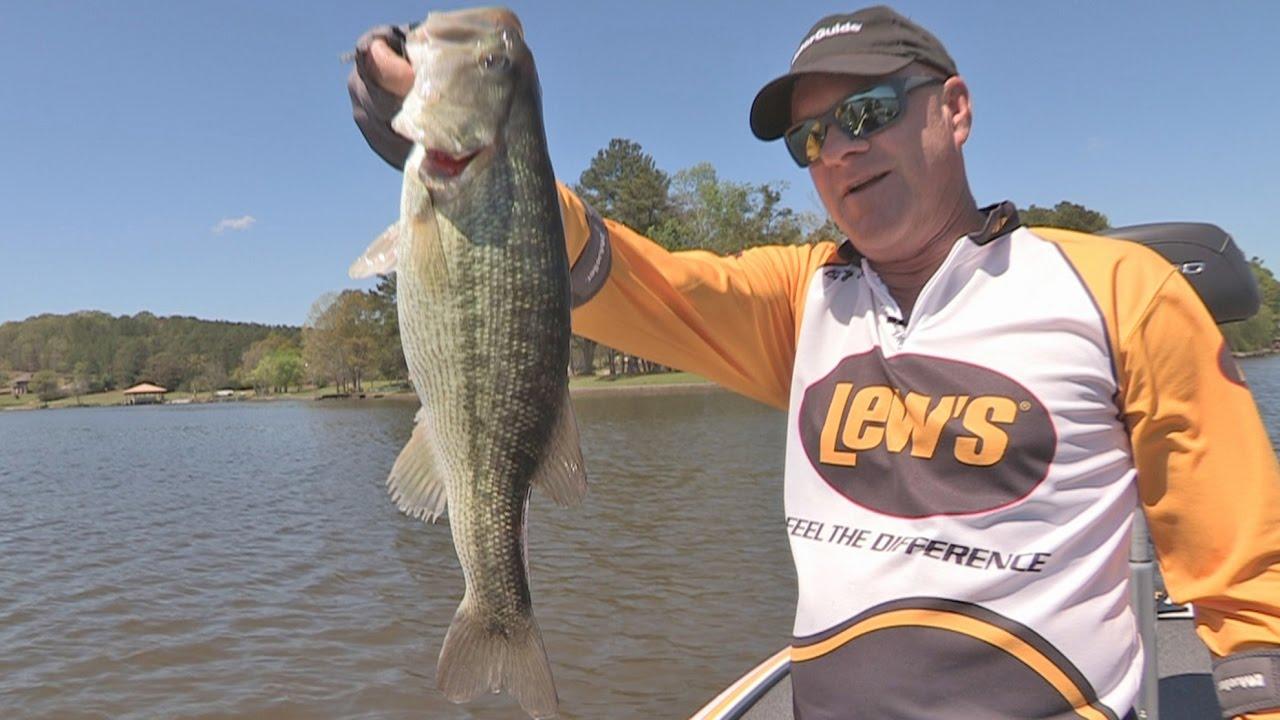 Fox sports outdoors southwest 6 2017 logan martin lake for Logan martin lake fishing report