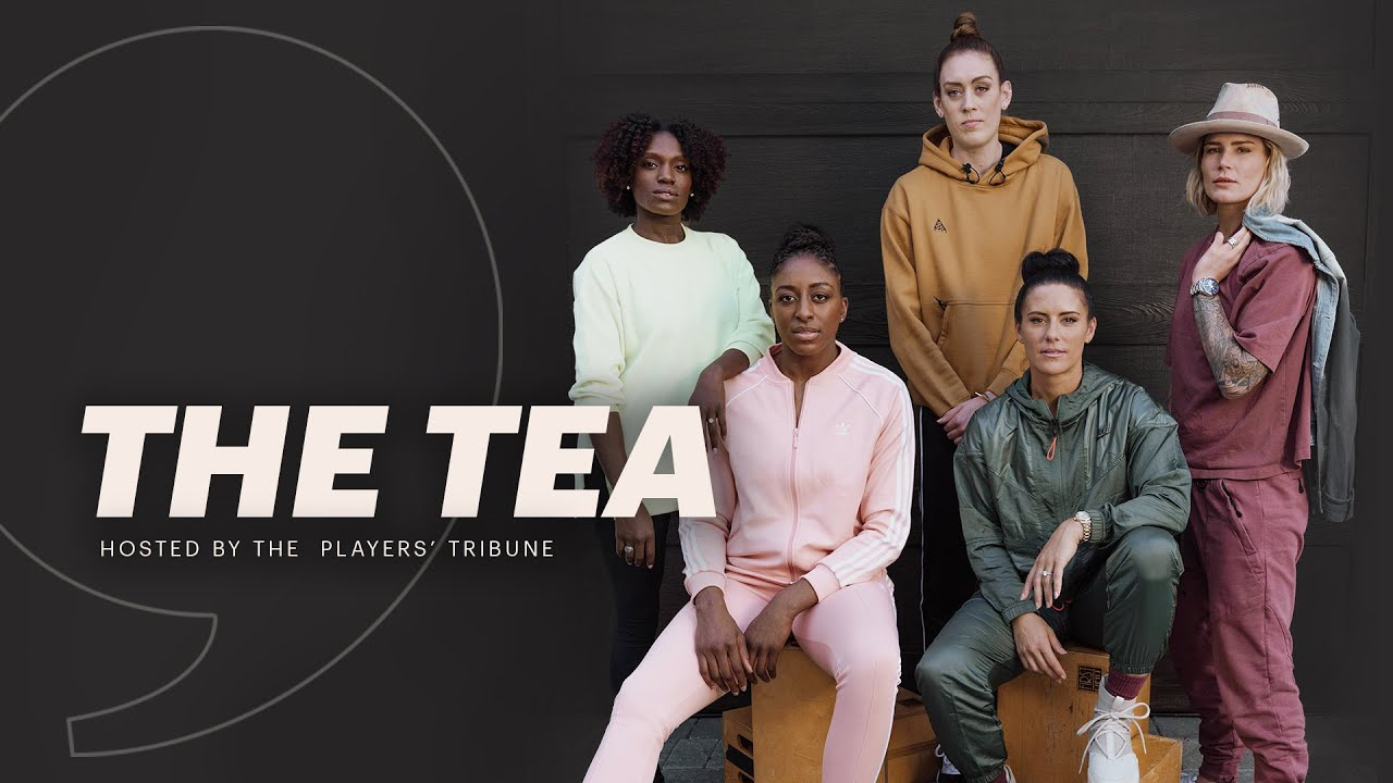 Breanna Stewart, Dawn Harper, Ali Krieger and More on Future of Women's Sports | The Tea Part 2