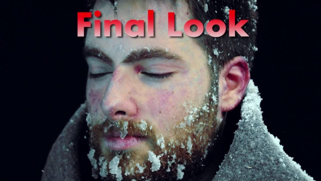 Scary Halloween Makeup For Guys With Beards.Frozen Man Special Effects Make Up Tutorial