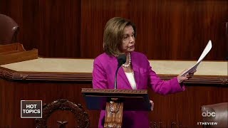 "Pelosi Comments Ruled ""Out Of Order"" 