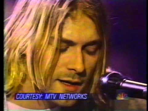 Nirvana - NBC News report on the Death of Kurt Cobain  4/8/94