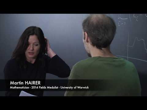 Interview at Cirm: Martin Hairer