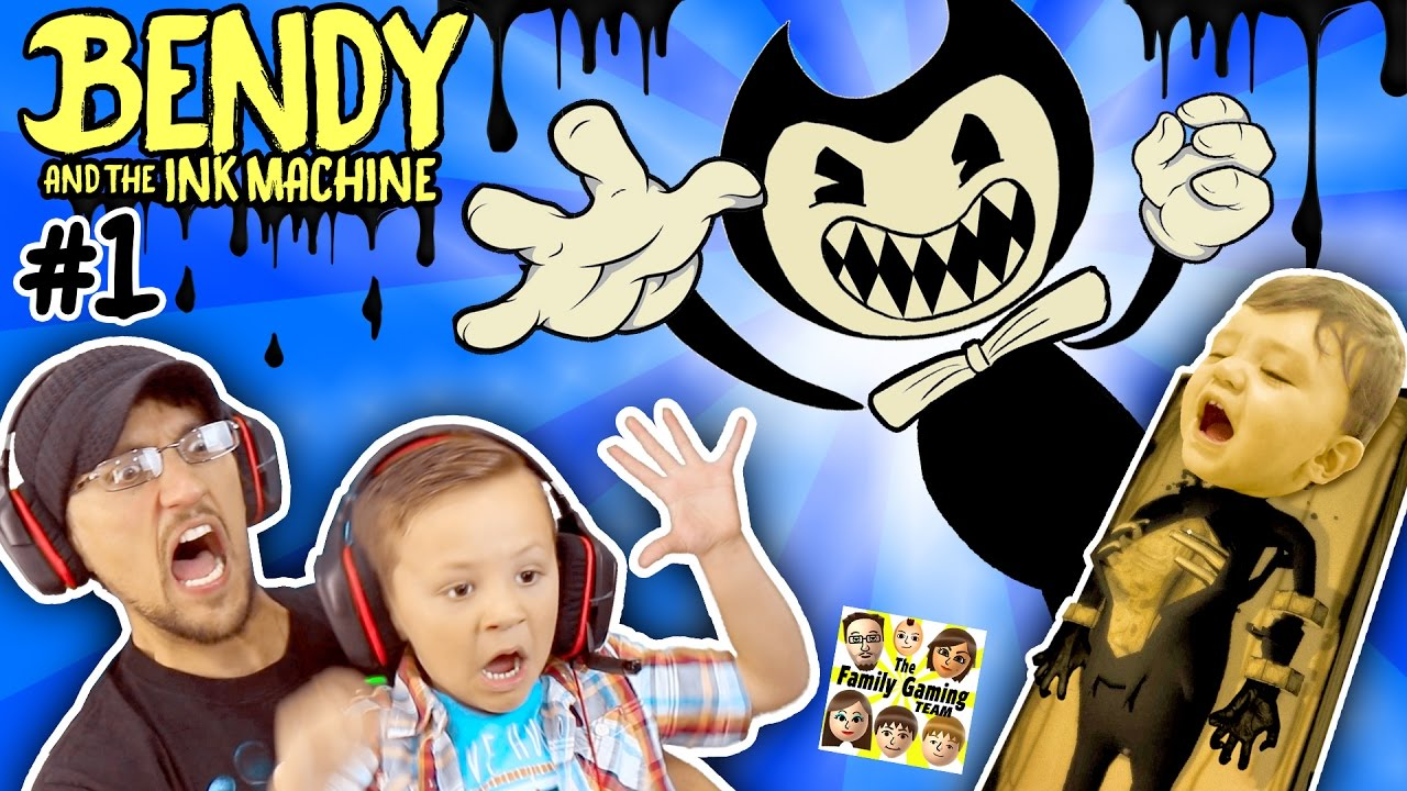 evil mickey mouse!??! bendy & the ink machine chapter 1
