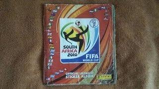 Complete 90% Fifa World Cap 2010 South Africa - Album Panini