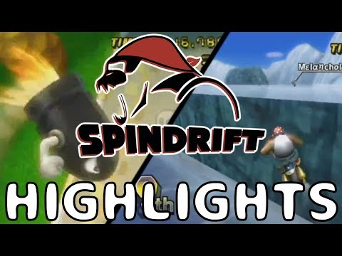 Spindrift 2 Highlights! - Mario Kart Wii LAN FFA Event
