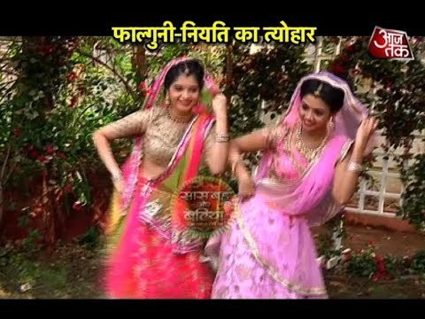 "Jiji Maa: Falguni & Niyati's ""Dancing Gangaur"""