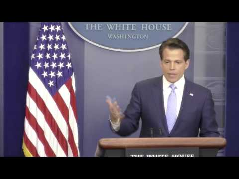 Watch the first White House press conference after Spicer resigned