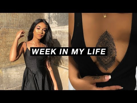 Week In My Life #2 | New Tattoo, Amsterdam & My First Event.