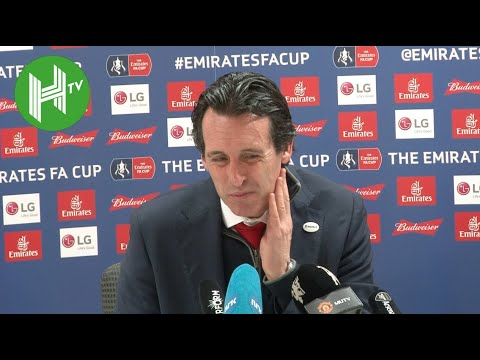 Arsenal 1-3 Man United I Unai Emery: Laurent Koscielny has fractured his jaw