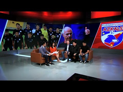 Exclusive: Philippine Azkals new coach, Sven-Goran Eriksson on SportsCenter Philippines