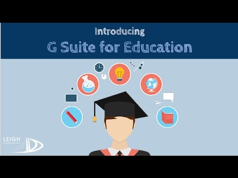 Introduction to G Suite for Education