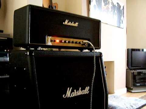 Marshall 100 watt Super Lead 1968 plexi demo 335 mxr