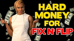 HOW TO GET 100% FUNDING FOR FIX N FLIPS WITH HARD MONEY LOANS | REAL ESTATE INVESTING SECRETS