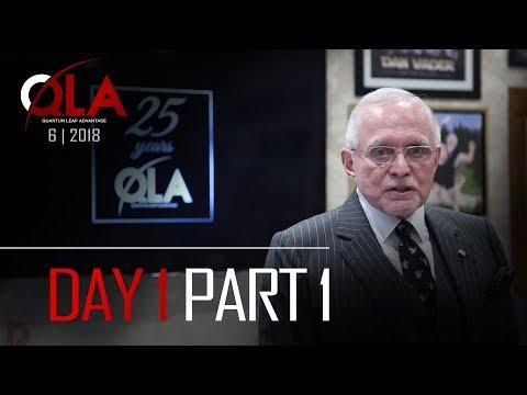 Day 1 Part 1 | June 2018 | Dan Peña QLA Castle Seminar