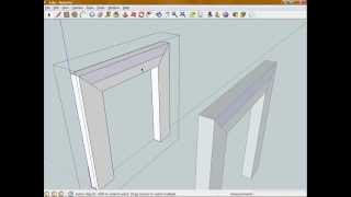Introduction To Sketchup - Model A Simple Woodworking Project - Part 2