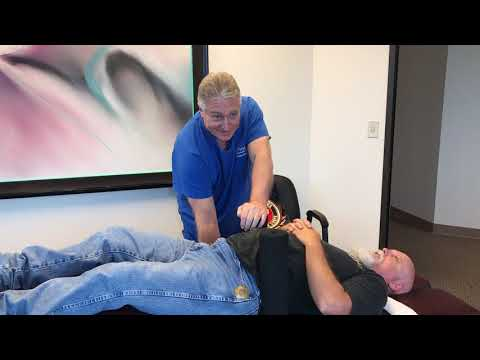 Marine Corps Veteran Describes  Full Body  Adjustment At Advanced Chiropractic Relief