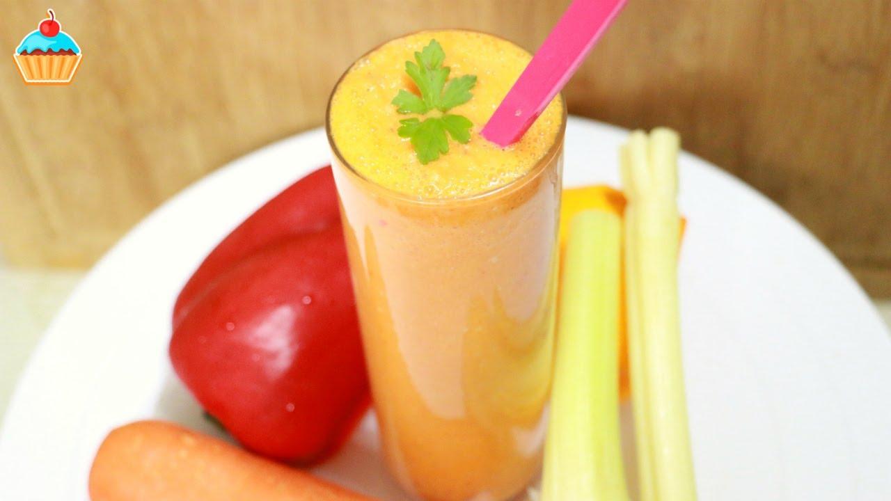 Ну, оОчень вкусный - Овощной Смузи! | овощной смузи для похудения