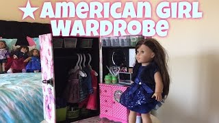 Amazing American Girl Doll Wardrobe