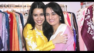 Shraddha Kapoor with Mom Padmini Kolhapure & Shilpa Shetty at Women Entrepreneurs Exhibition 2015