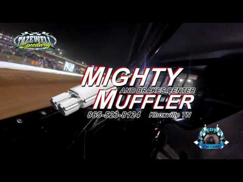 #T0 Travis Fultz - Sportsman - 6-2-17 Tazewell Speedway - In-Car Camera