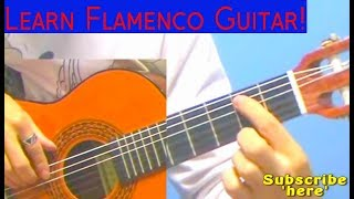 ❤BEAUTIFUL❤ Flamenco Piece: Alegrias! [LESSON + TABS] ~{ALL PARTS}~