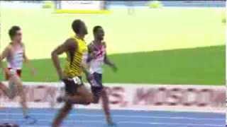 Moscow 2013 - 200m Men - Semi - Final - Heat 2