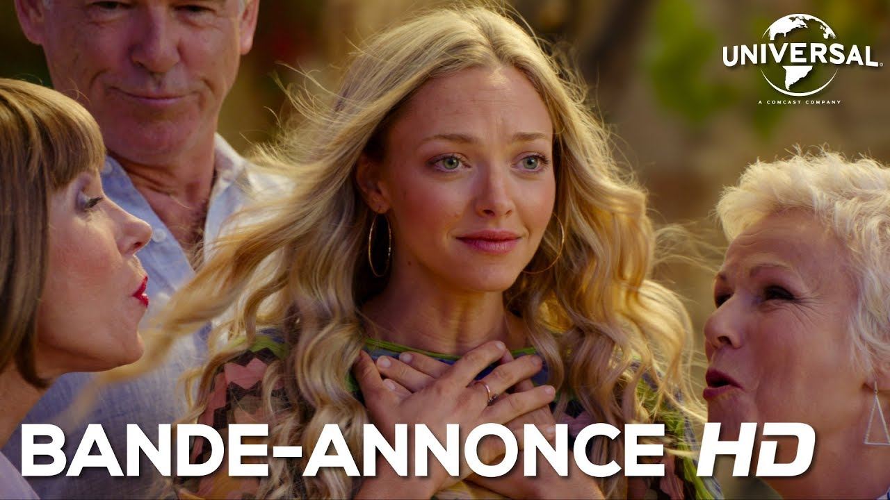 Mamma Mia : Here We Go Again / Bande-annonce officielle 2 VOST [Au cinéma le 25 juillet]