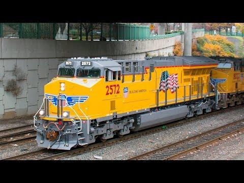 Trains In Portland Oregon Union Pacific Amtrak Portland & Western