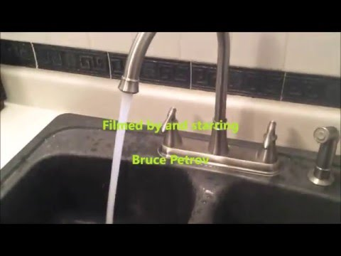 How to repair your clogged faucet aerator