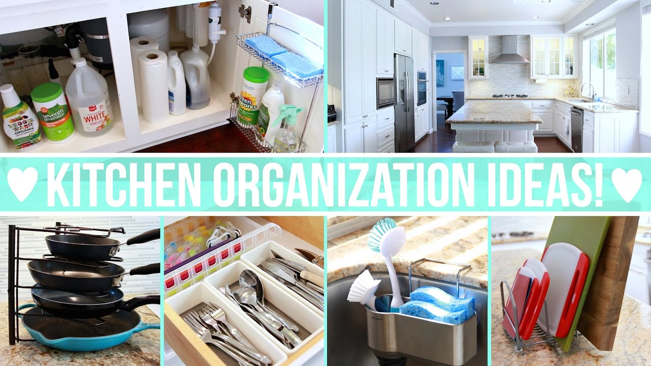 Kitchen Organization Ideas! - YouTube