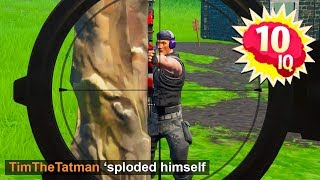 Best Fortnite '10 IQ' PLAYS and MOMENTS! #2