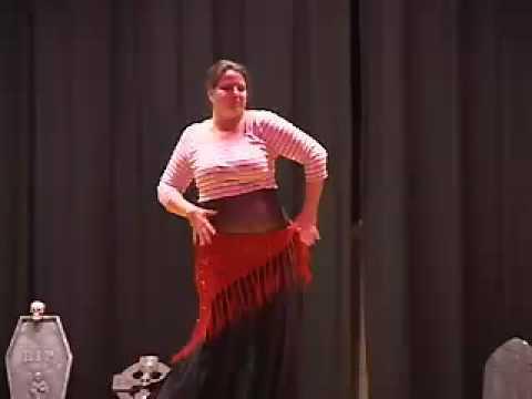 Merci, Monsieur Marceau! Belly Dance performance by Aurora
